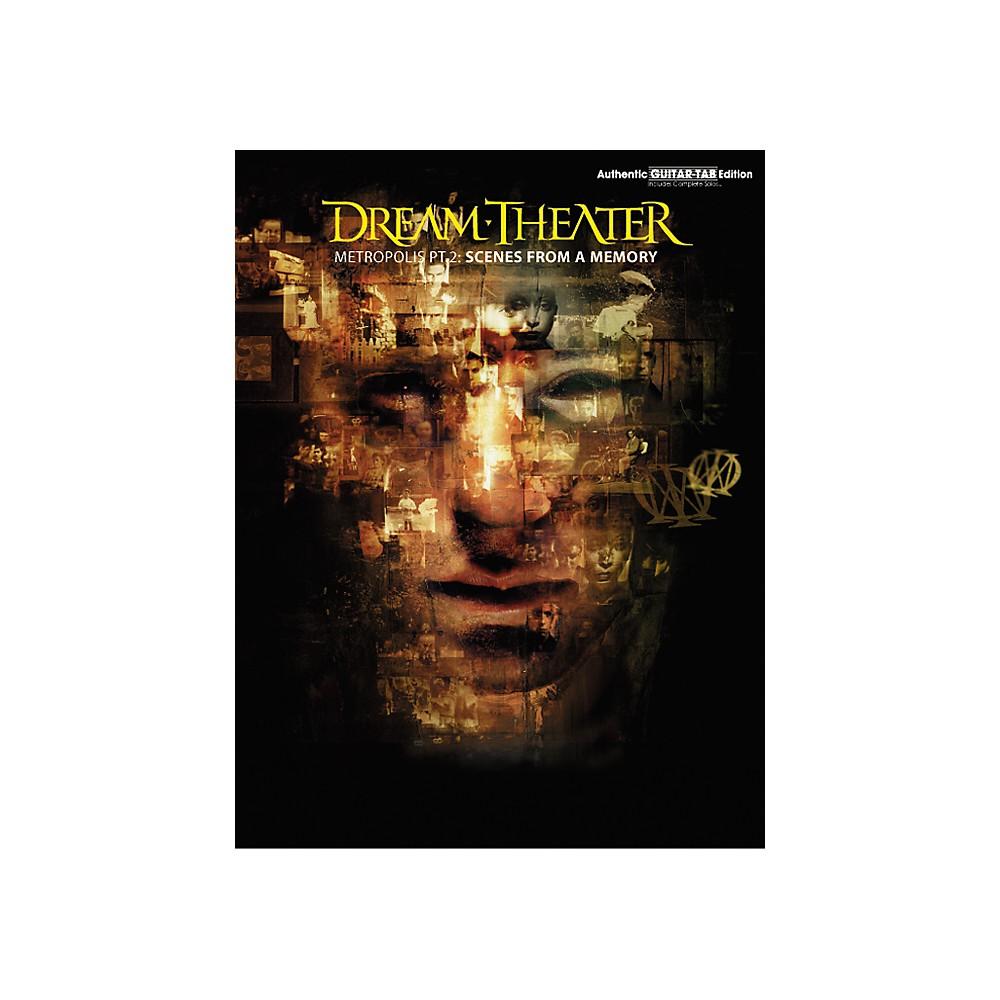 Hal Leonard Dream Theater Metropolis Part 2 Scenes from a Memory Guitar Tab Book 1273887983932