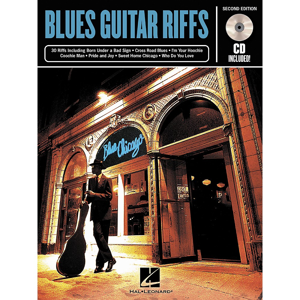 Hal Leonard Blues Guitar Riffs 2Nd Edition (Book/Cd) 1274034474026