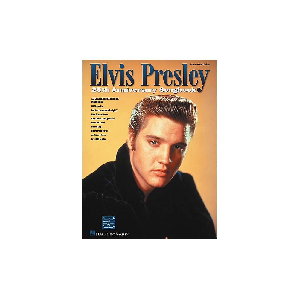 Hal Leonard Elvis Presley 25th Anniversary Piano, Vocal, Guitar Songbook 1274034475321