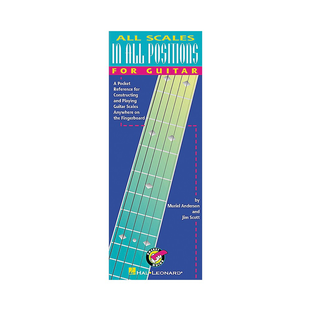 Hal Leonard All Scales in All Positions for Guitar Book 1274034474863