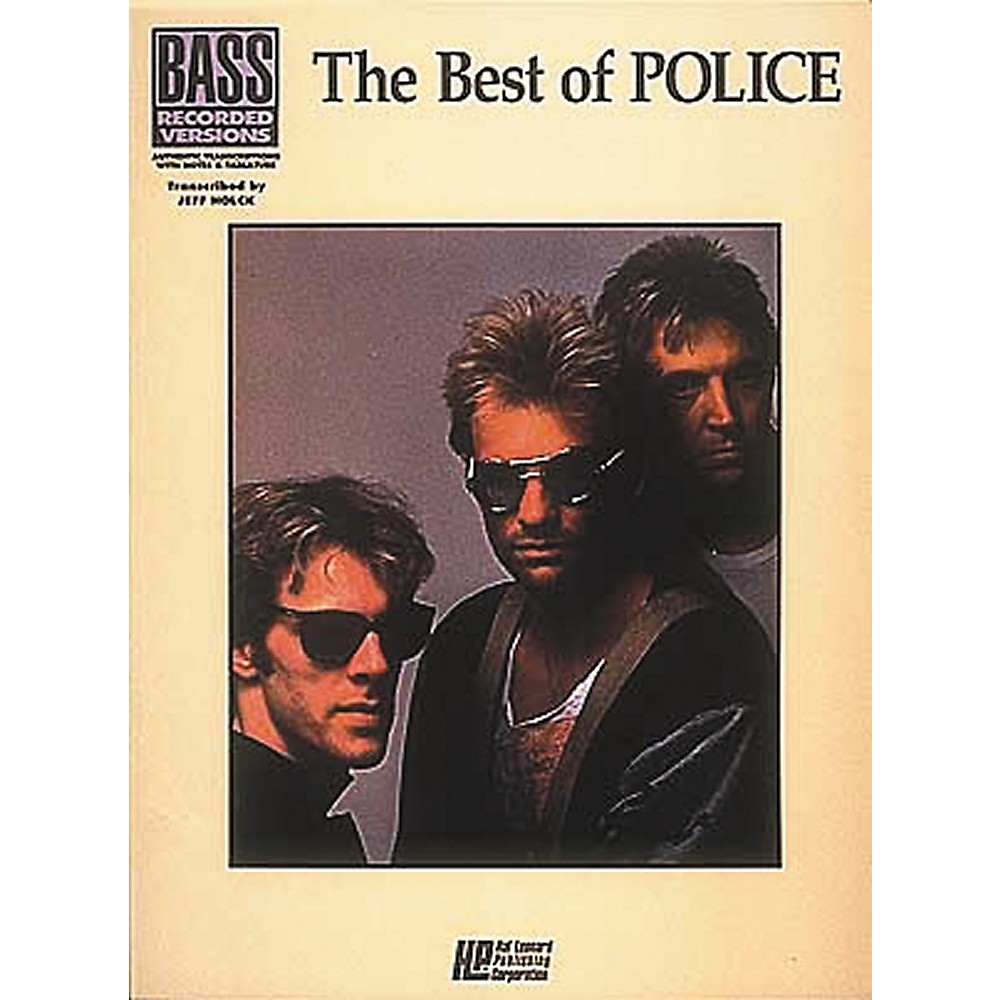 Hal Leonard The Best Of The Police Bass Guitar Tab Songbook 1274034471426
