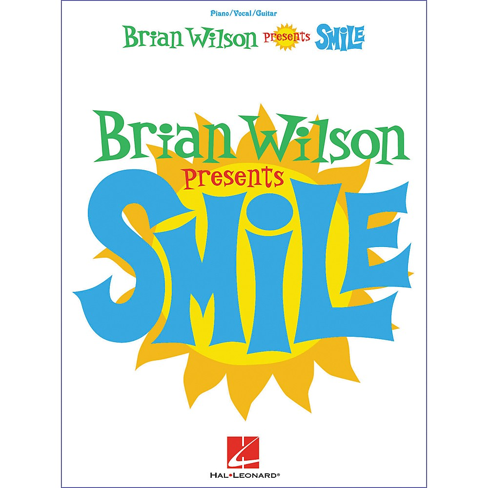 Hal Leonard Brian Wilson Smile Piano, Vocal, Guitar Songbook 1274034475787
