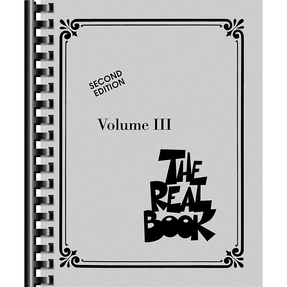 Hal Leonard The Real Book Volume 3 (C Edition) 1274034472847
