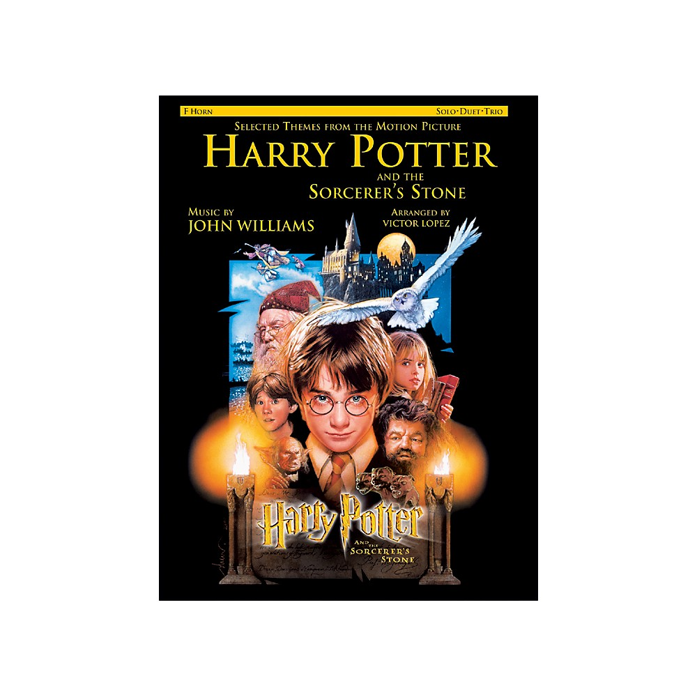 Alfred Harry Potter Sorcerers Stone For French Horn Book 1273887986281