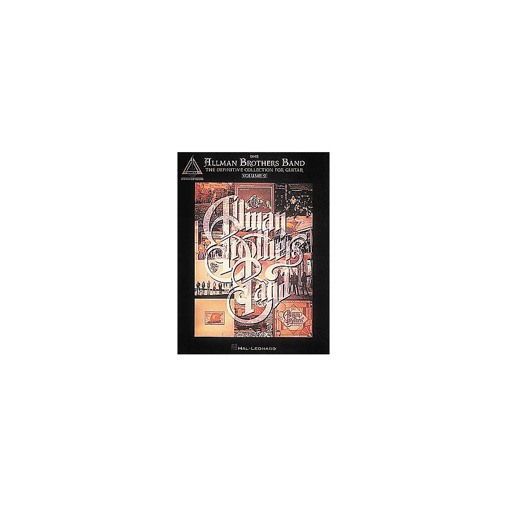The Allman Brothers Band Definitive [Book] Collection Vol. 2 1274034473089