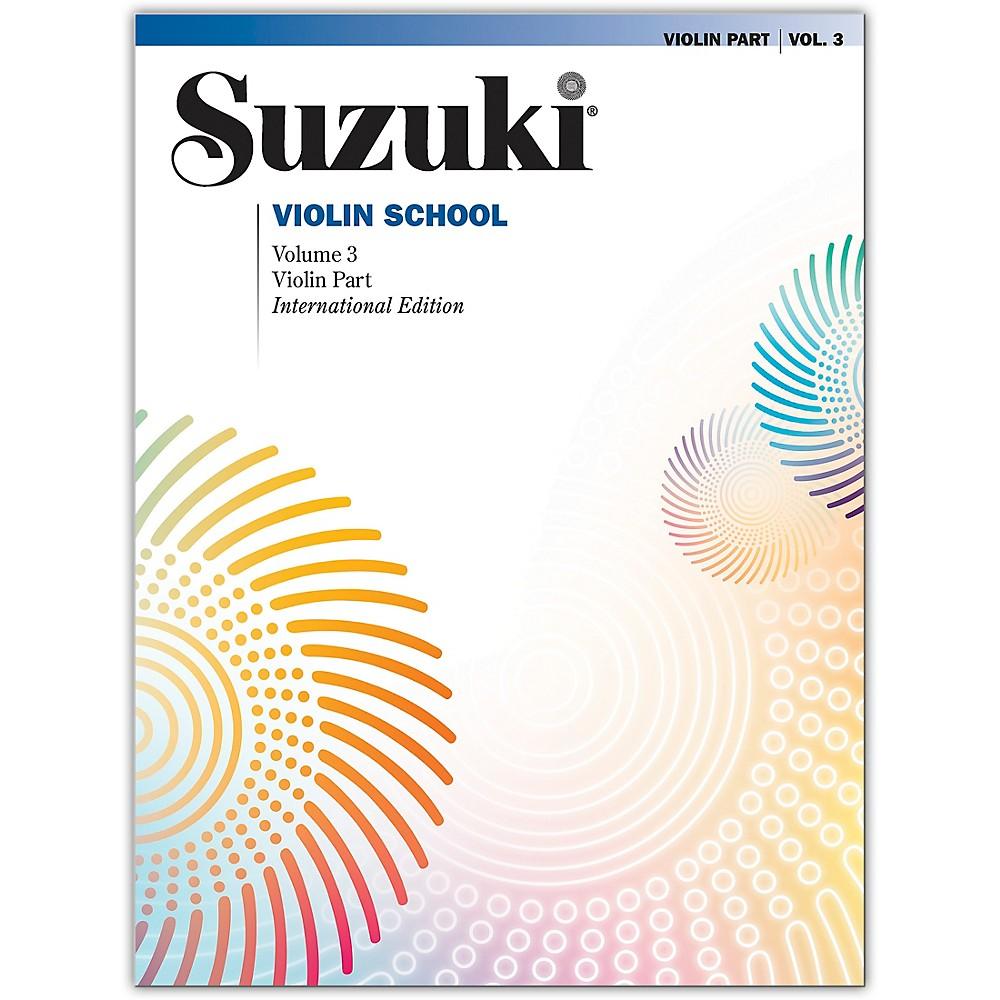 Alfred Suzuki Violin School Violin Part Volume 3 1273887985606