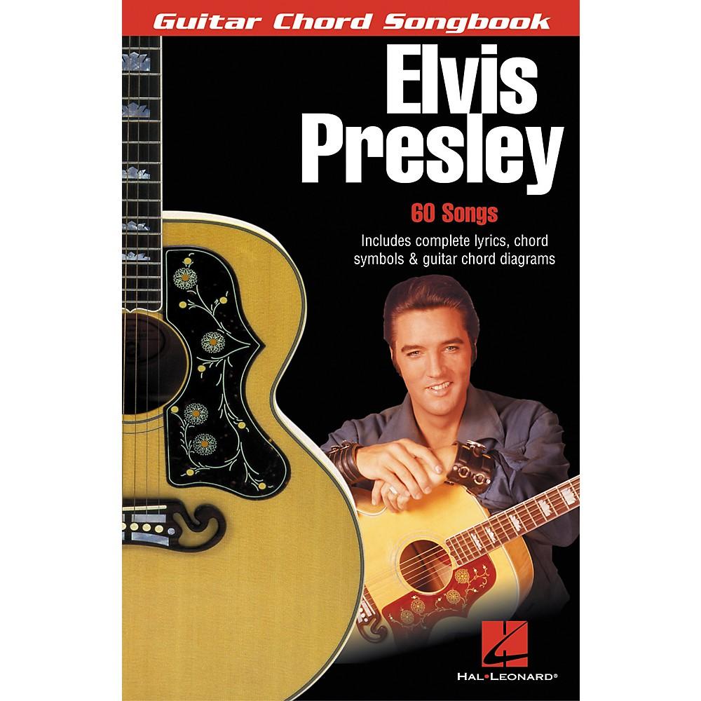 Hal Leonard Elvis Presley Guitar Chord Songbook 1274034476553