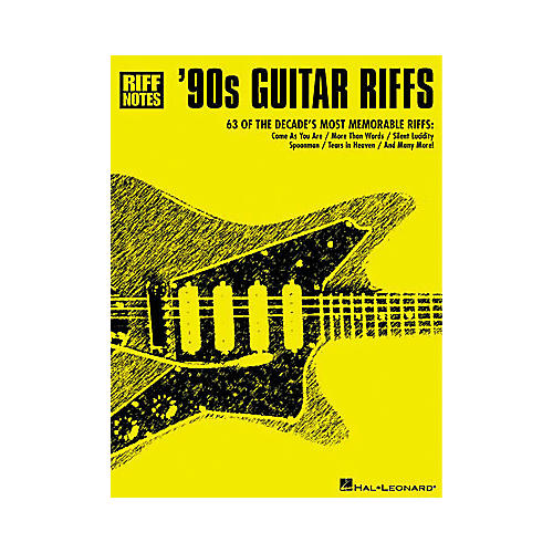 Hal Leonard '90s Guitar Riffs Book