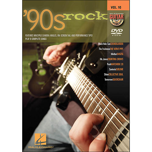 Hal Leonard 90s Rock - Guitar Play-Along DVD Volume 10-thumbnail