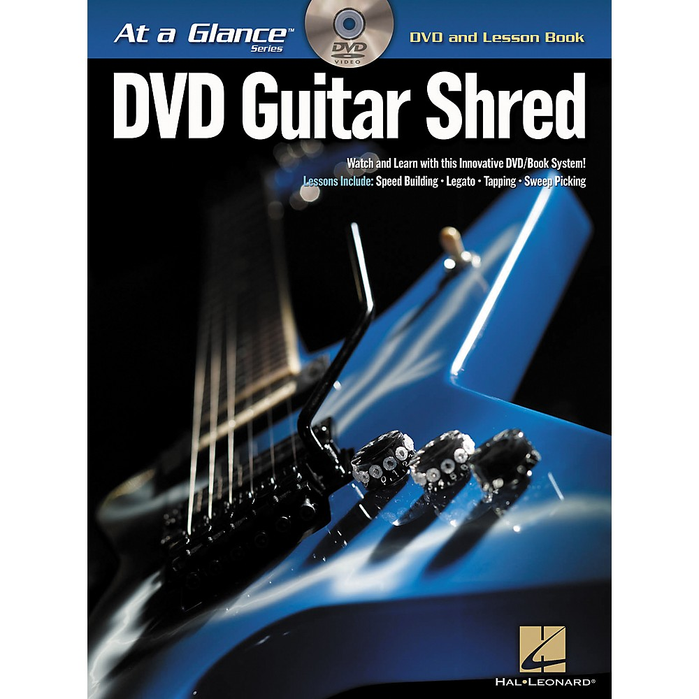 Hal Leonard Guitar Shred At A Glance Series (Book/Dvd) 1274034471520