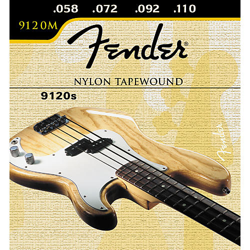 Nylon Bass String : fender 9120 nylon tapewound bass strings guitar center ~ Vivirlamusica.com Haus und Dekorationen