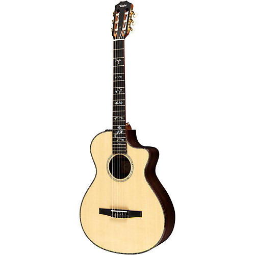 Taylor 912ce-N Rosewood/Spruce Nylon String Grand Concert Acoustic-Electric Guitar