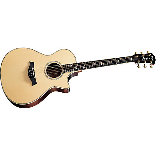 Taylor 912ce Rosewood/Spruce Grand Concert Acoustic-Electric Guitar Natural