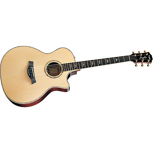 Taylor 914CE Grand Auditorium Cutaway Acoustic-Electric Guitar Sitka Spruce East Indian RW Back/Sides