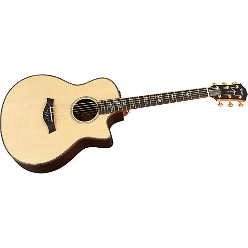 Taylor 916ce-L Rosewood/Spruce Grand Symphony Left-Handed Acoustic-Electric Guitar