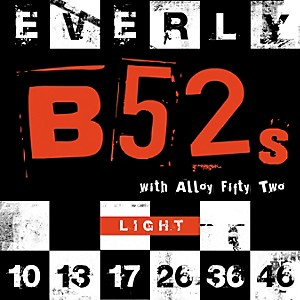 Everly 9210 B-52 Rockers Alloy Light Electric Guitar Strings by Everly