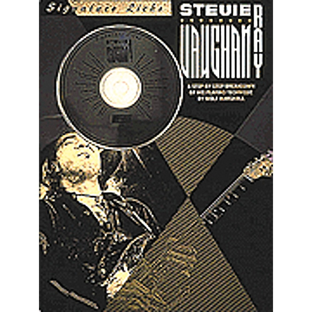 Hal Leonard Stevie Ray Vaughan Guitar Signature Licks Book With Cd 1274034470383