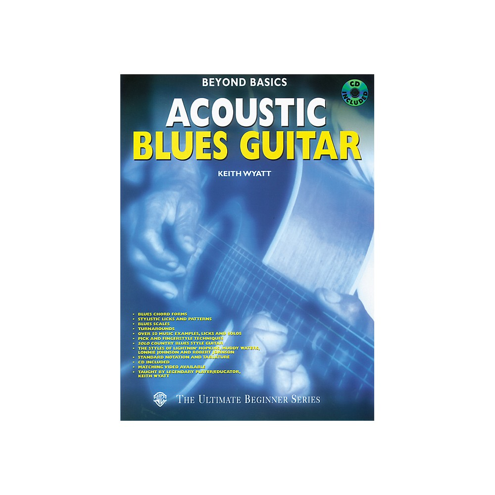 Alfred Beyond Basics Acoustic Blues Guitar (Book/Cd) 1273887983989