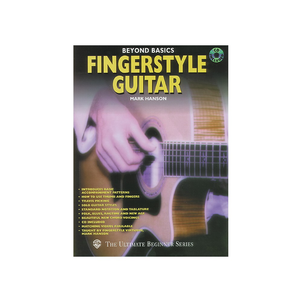 Alfred Beyond Basics Fingerstyle Guitar (Book/Cd) 1273887983991