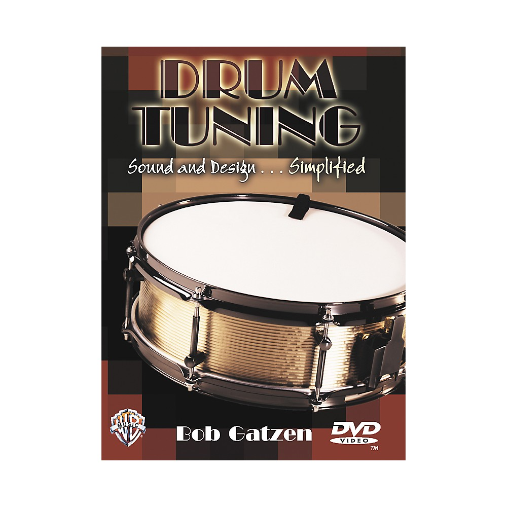 Warner Bros Drum Tuning Sound And Design..Simplified Dvd 1274034473069