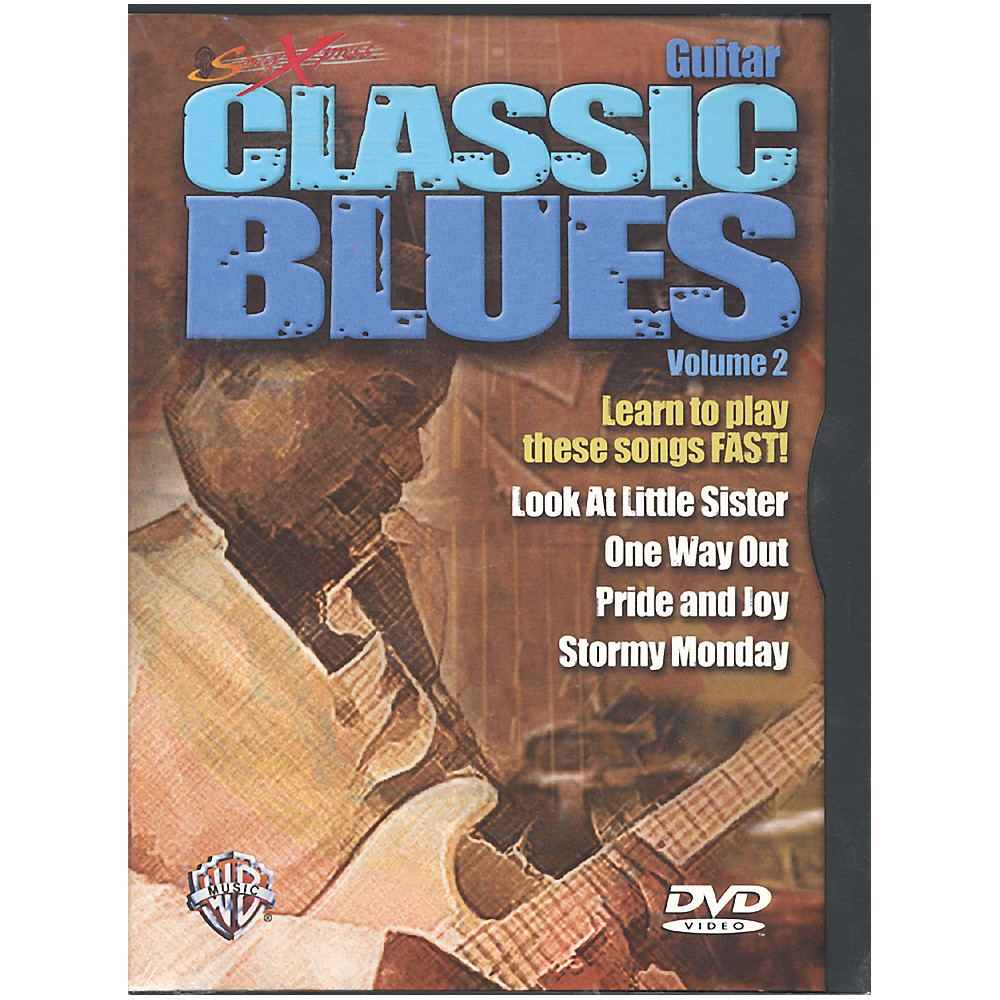 Alfred Songxpress Classic Blues Volume 2 Dvd 1273887985345