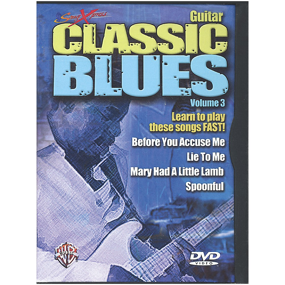 Alfred SongXpress Classic Blues Volume 3 DVD 1273887985254