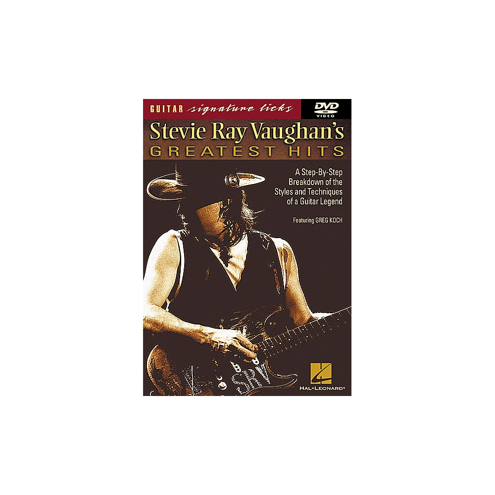 Hal Leonard Stevie Ray Vaughan's Greatest Hits Dvd 1274034469866