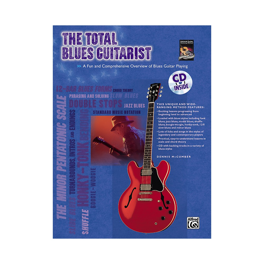 Alfred The Total Blues Guitarist Book And Cd 1273887984381