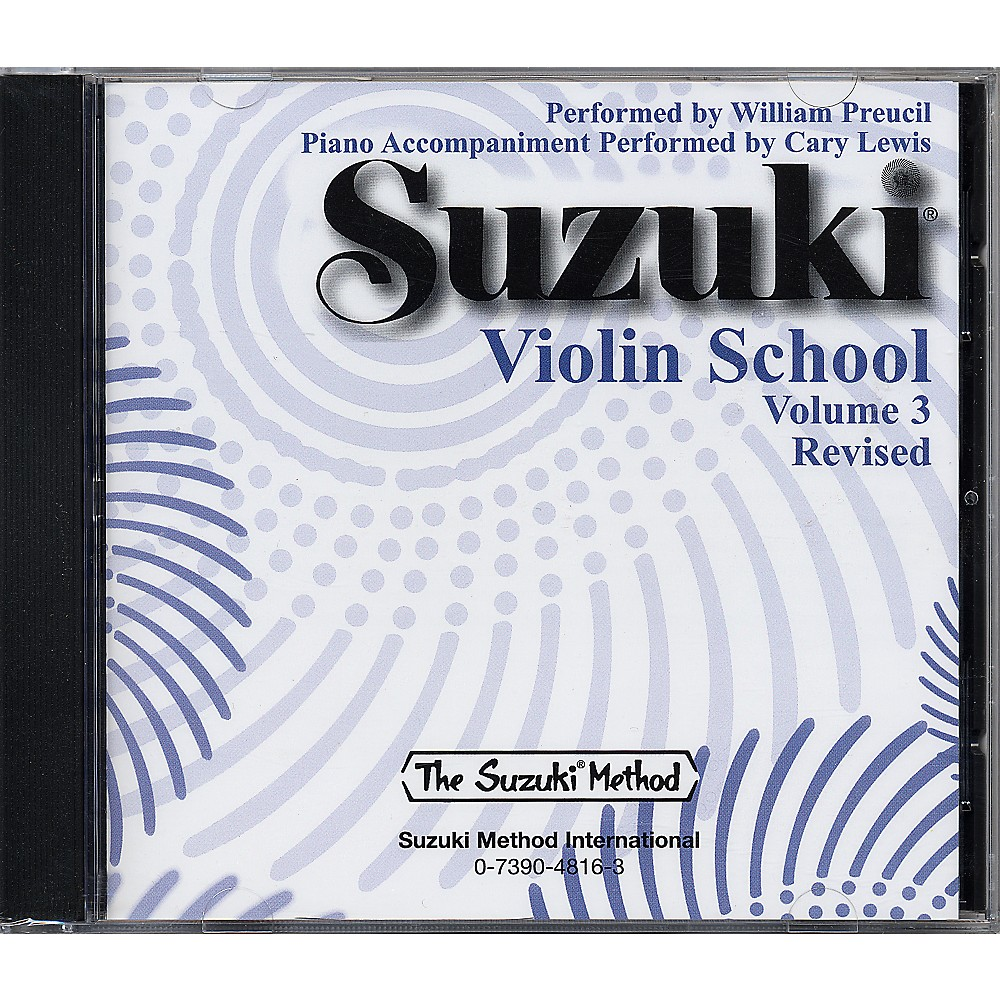 Alfred Suzuki Violin School Cd Volume 3 1273887985954