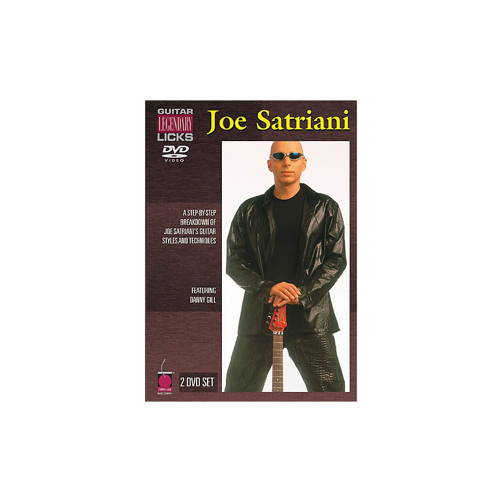 Cherry Lane Joe Satriani (2-DVD Set) 1274034472458