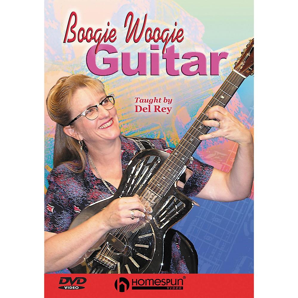 Homespun Boogie Woogie Guitar (Dvd) 1274034473651