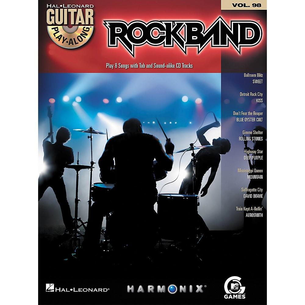 Rock Band Classic Rock Edition Guitar Play-Along Vol. 98
