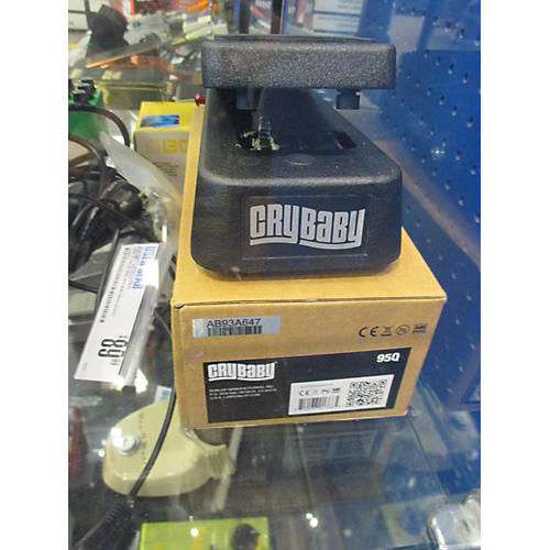 Dunlop 95Q Cry Baby Wah Effect Pedal-thumbnail