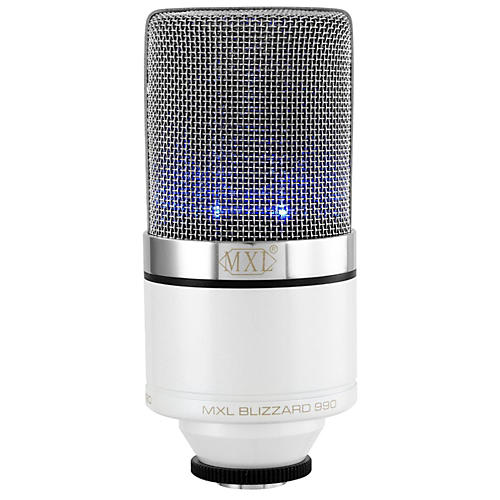 MXL 990 Blizzard Limited Edition Condenser Microphone-thumbnail