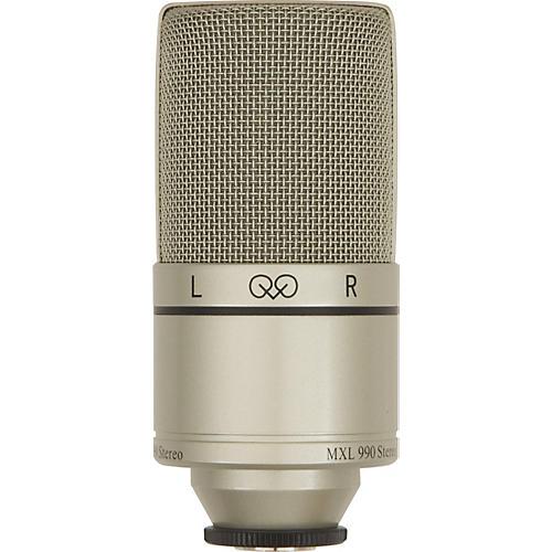 MXL 990 Large Diaphragm Stereo Condenser Mic
