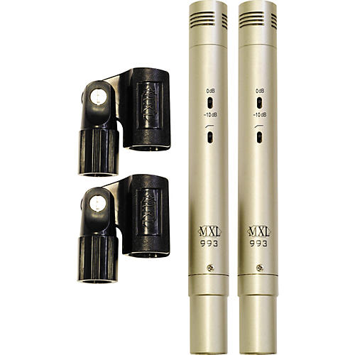 MXL 993 Condenser Microphones Stereo Pair-thumbnail