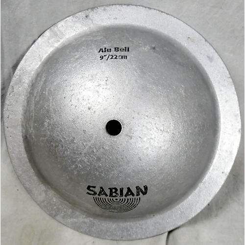Sabian 9in Aluminum Bell Cymbal