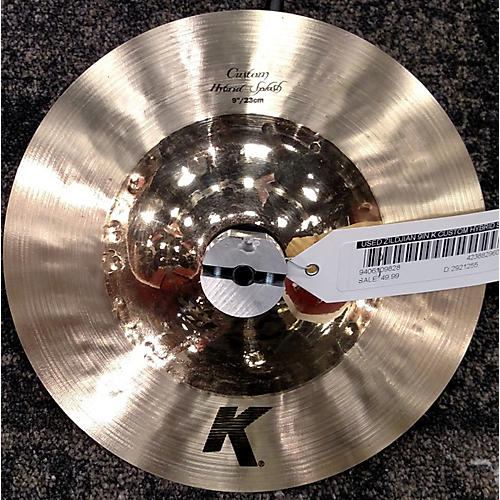Zildjian 9in K Custom Hybrid Splash Cymbal-thumbnail