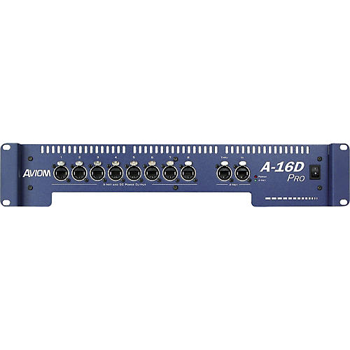 Aviom A-16D Pro A-Net Distributor and DC Power Source