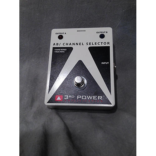 3rd Power Amps A/B CHANNEL SELECTOR Pedal-thumbnail