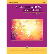 Alfred A Celebration Overture Concert Band Grade 5 (Difficult)