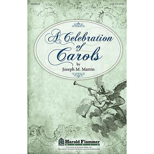 Shawnee Press A Celebration of Carols SAB composed by Joseph Martin