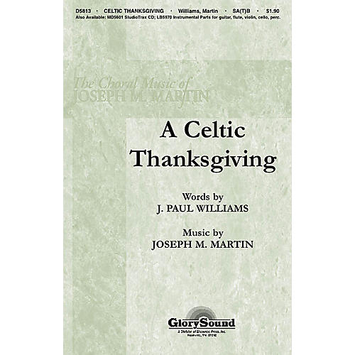 Hal Leonard A Celtic Thanksgiving SATB-thumbnail