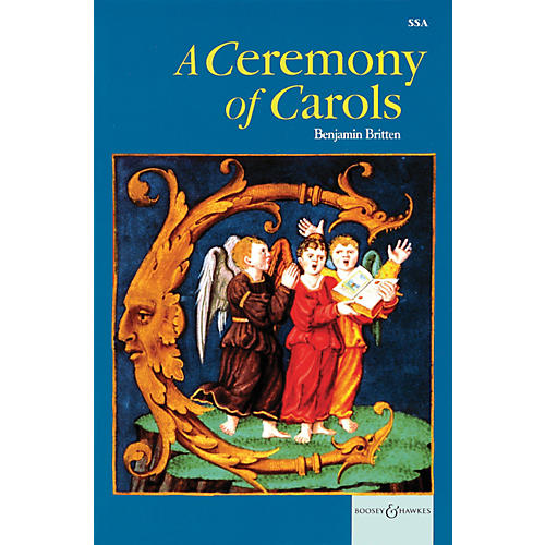 Boosey and Hawkes A Ceremony Of Carols SSA Vocal Score Newly Engraved Edition