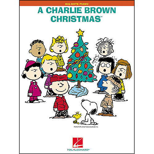Hal Leonard A Charlie Brown Christmas for Big Note Piano-thumbnail