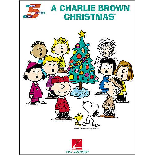 Hal Leonard A Charlie Brown Christmas for Five Finger Piano-thumbnail