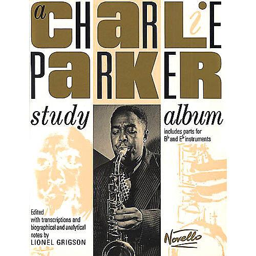 Novello A Charlie Parker Study Album Music Sales America Series