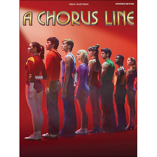 Hal Leonard A Chorus Line - Updated Edition arranged for piano, vocal, and guitar (P/V/G)-thumbnail
