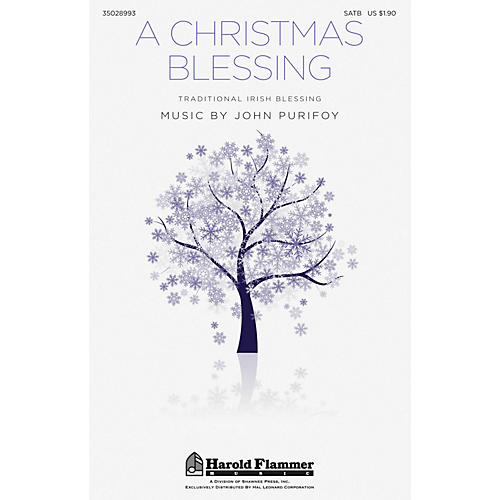 Shawnee Press A Christmas Blessing SATB composed by John Purifoy