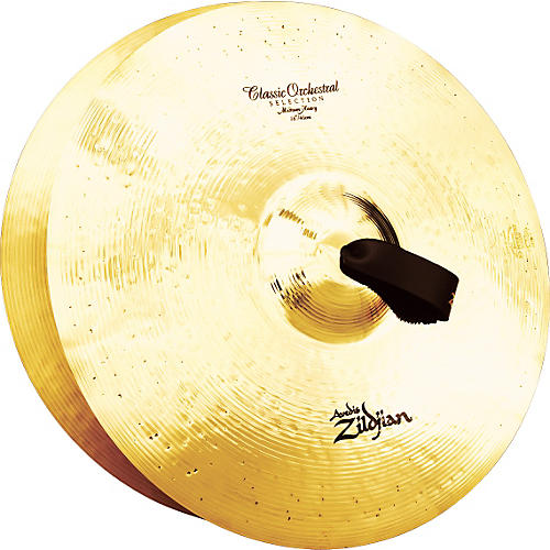 Zildjian A Classic Orchestral Medium Heavy Crash Cymbal Pair-thumbnail